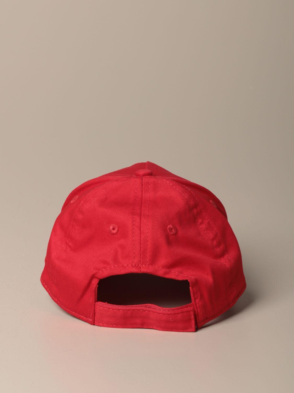 Chapeau Kenzo Junior: Chapeau enfant Kenzo Junior rouge 3