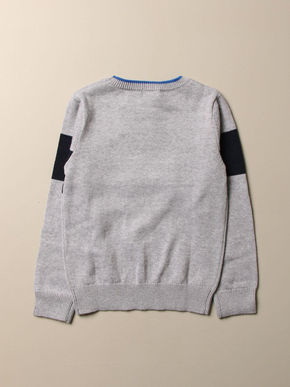 Multicolored Cotton Sweater.