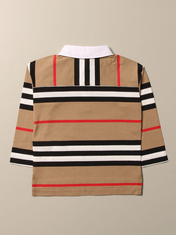 Polo Burberry: Camiseta niños Burberry beige 2