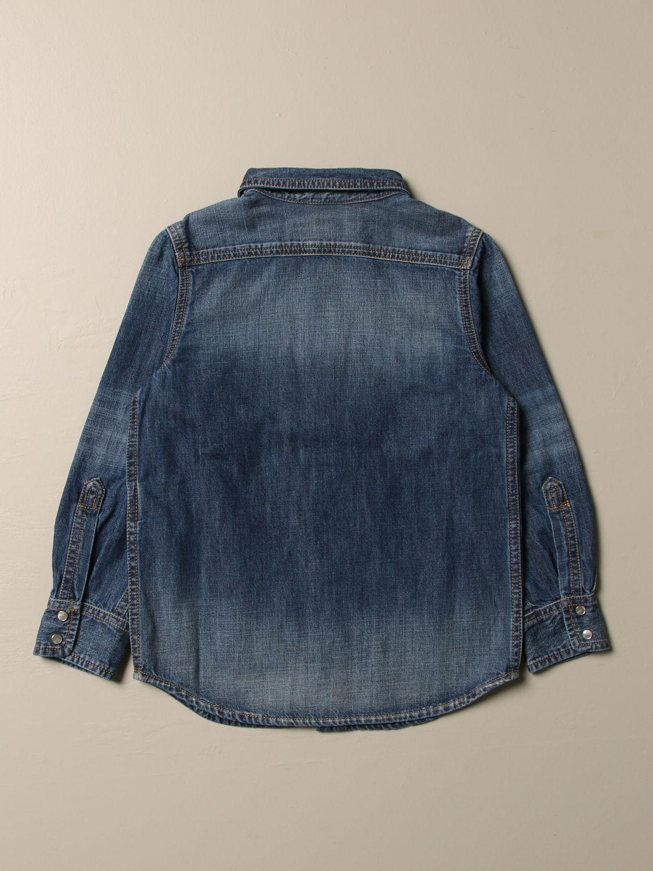 Camicia Diesel: Camicia di jeans Diesel con logo denim 2