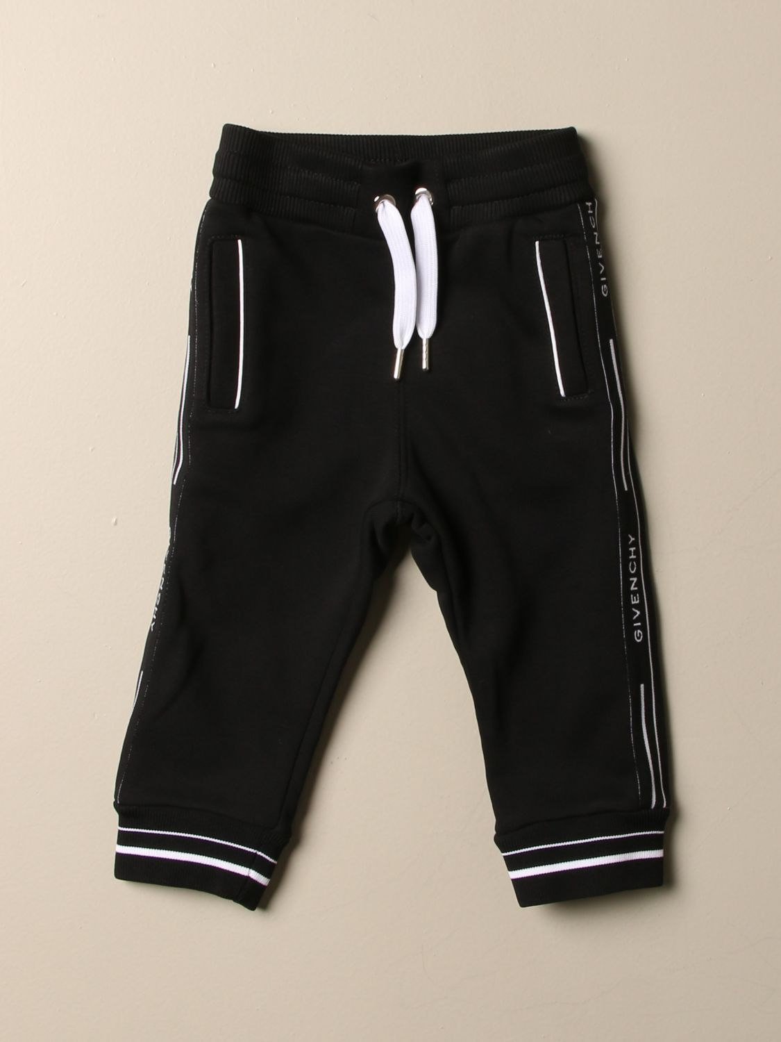 Trousers Givenchy: Trousers kids Givenchy black 1