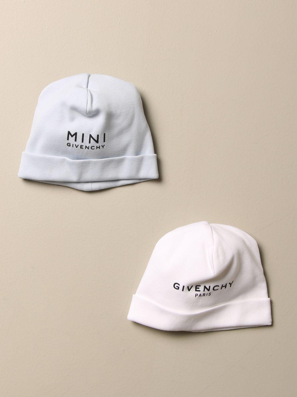 Шапки для новорожденных Givenchy: Шапки для новорожденных Детское Givenchy белый 1