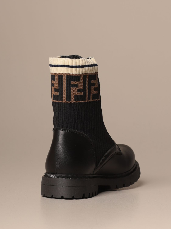 鞋履 Fendi: 鞋履 儿童 Fendi 黑色 3