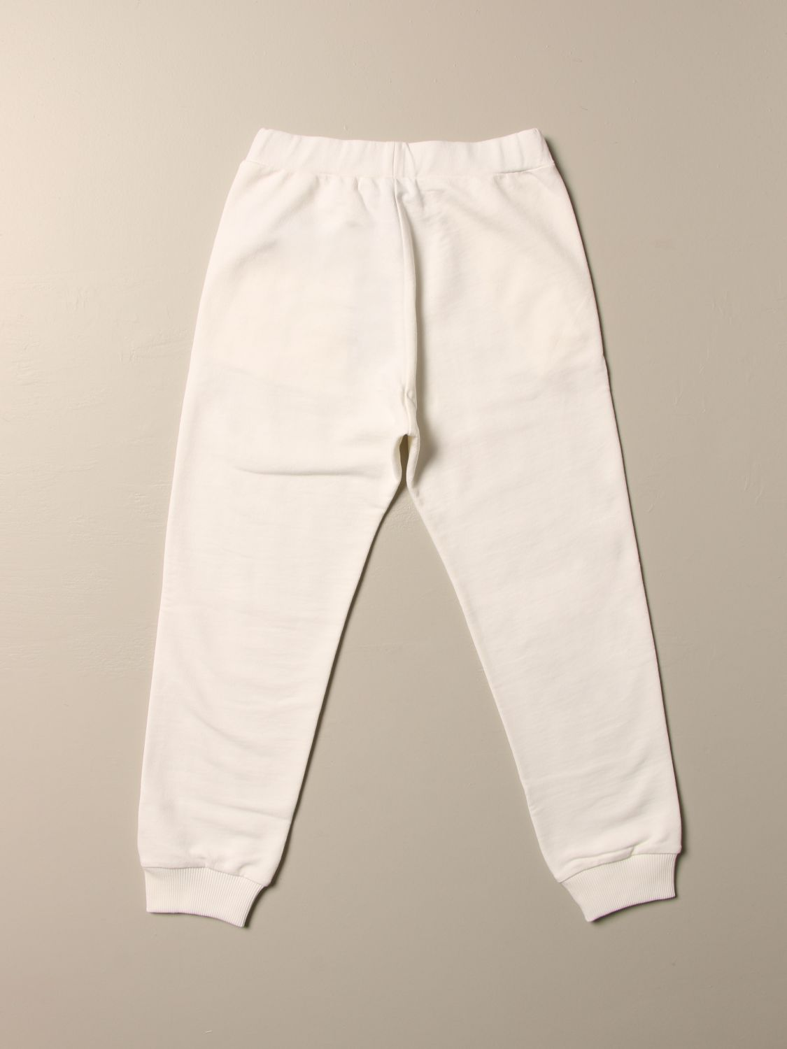 Pants Young Versace: Versace Young children's trousers white 2