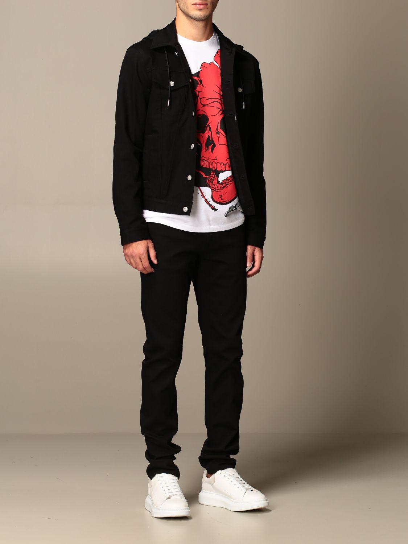 Jacket Alexander Mcqueen: Jacket men Alexander Mcqueen black 2