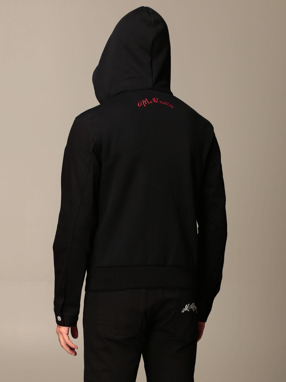 Jacket Alexander Mcqueen: Jacket men Alexander Mcqueen black 3
