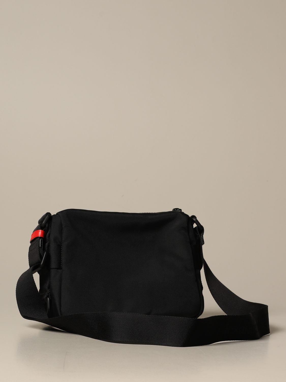 Shoulder bag Alexander Mcqueen: Alexander McQueen bag in technical fabric black 3