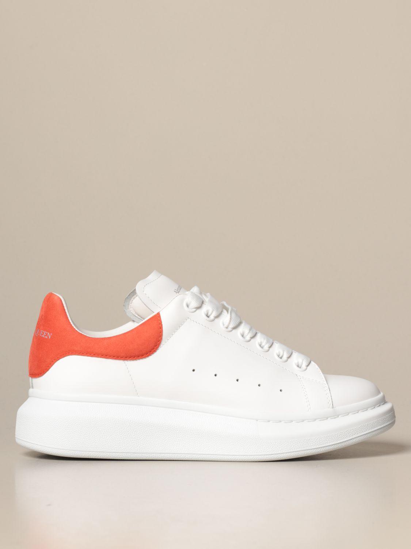 Спортивная обувь Alexander Mcqueen: Спортивная обувь Мужское Alexander Mcqueen белый 1