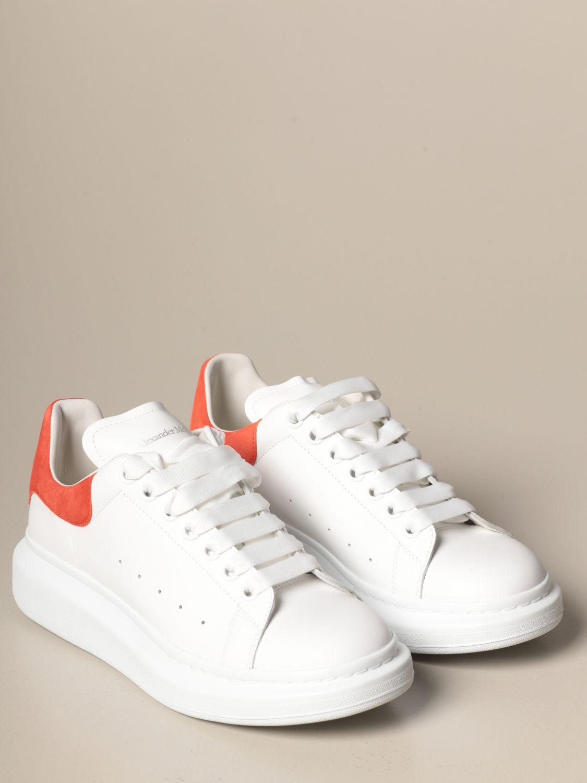 Спортивная обувь Alexander Mcqueen: Спортивная обувь Мужское Alexander Mcqueen белый 2