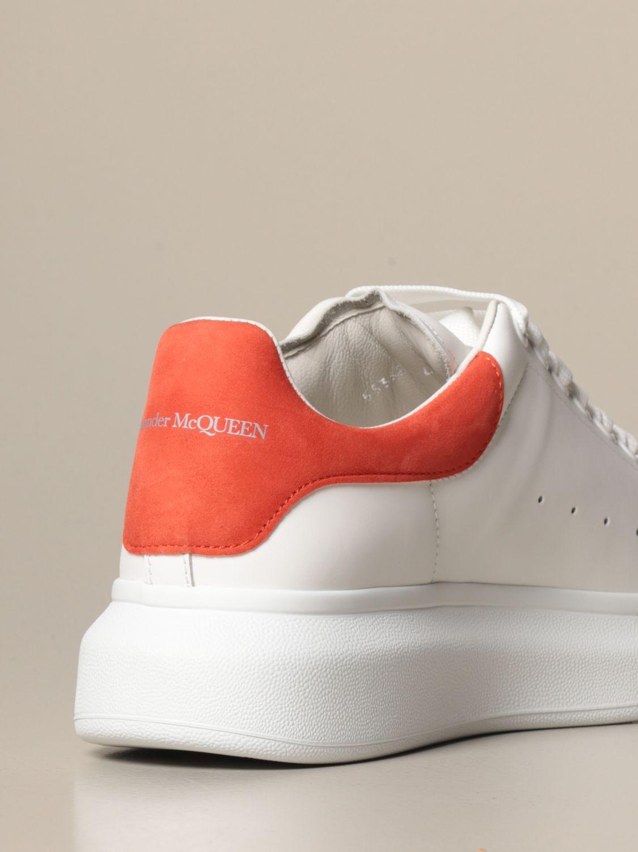 Спортивная обувь Alexander Mcqueen: Спортивная обувь Мужское Alexander Mcqueen белый 4