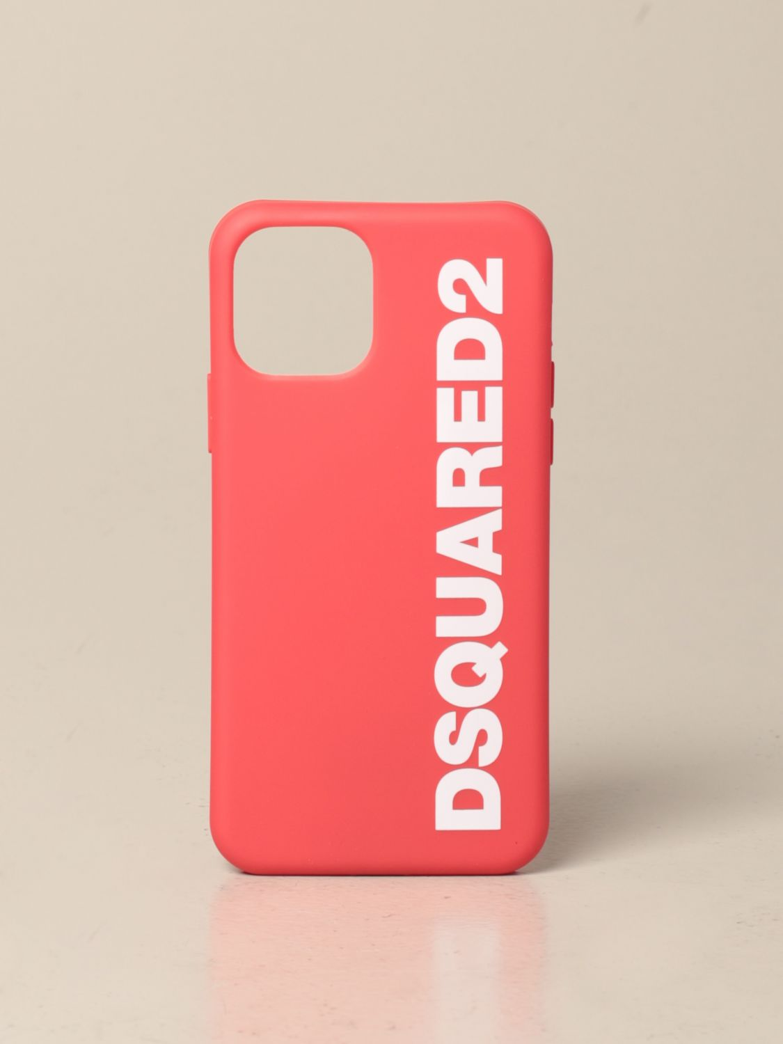 Cover for men Dsquared2: Dsquared2 Iphone 11 pro cover with print red 1