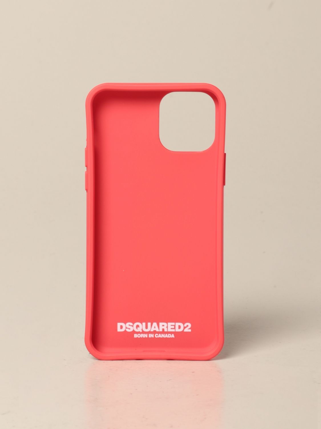 Cover for men Dsquared2: Dsquared2 Iphone 11 pro cover with print red 2