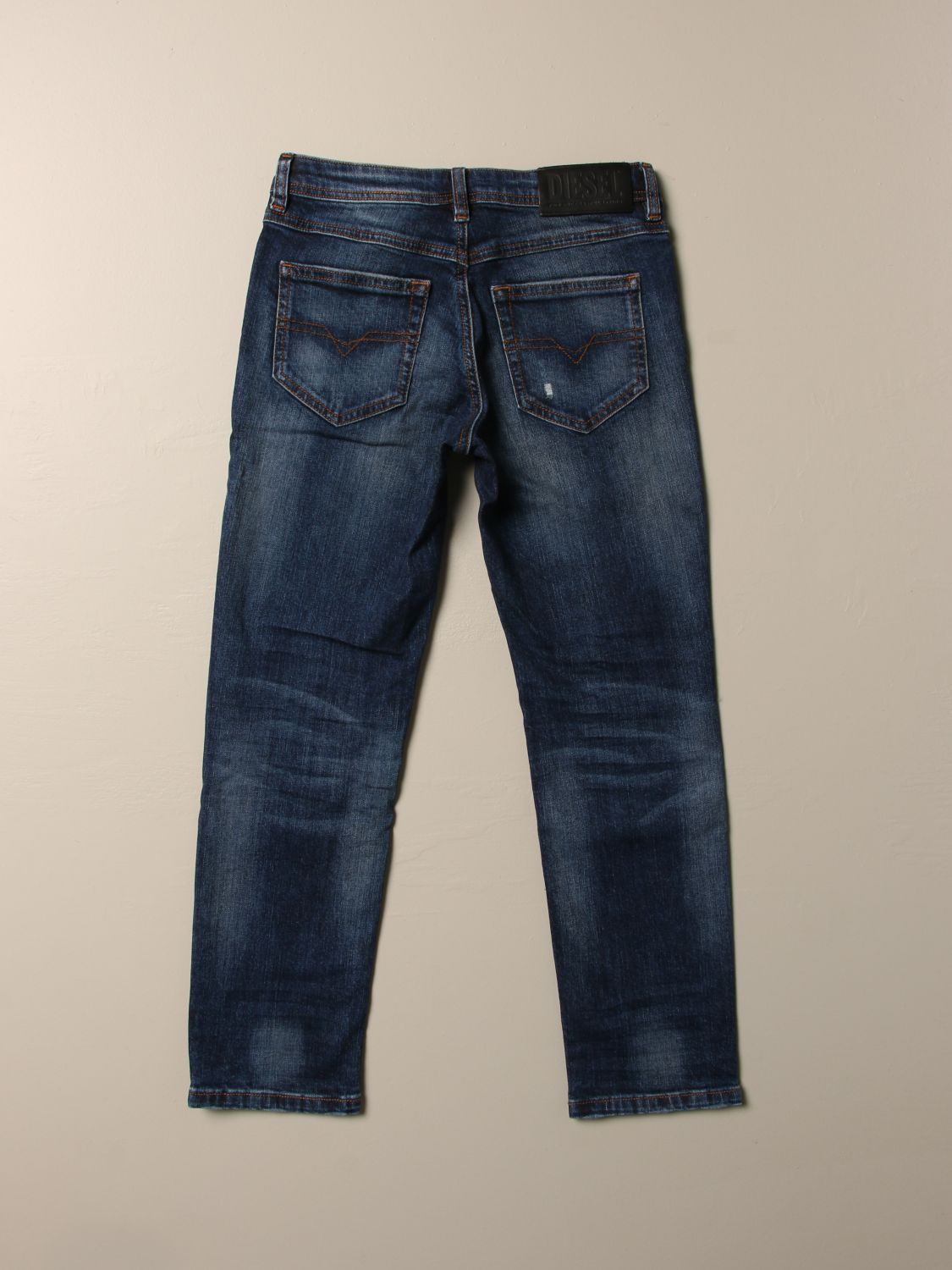 Jeans Diesel: Jeans Diesel in denim used con rotture denim 2