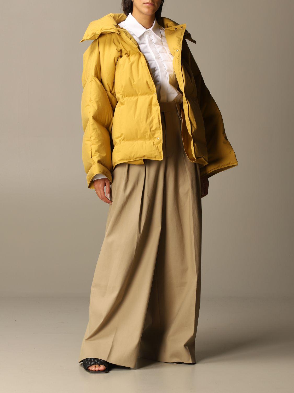 Jacket Bottega Veneta: Jacket women Bottega Veneta ocher 2