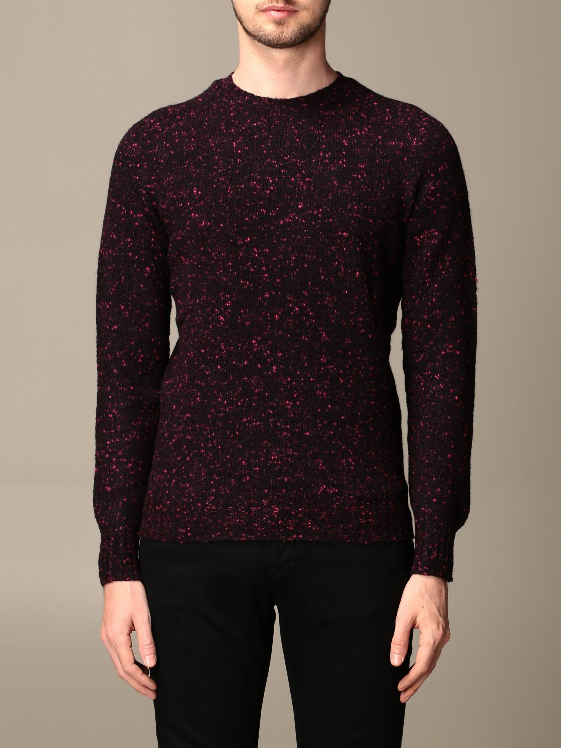 Sweater Drumohr: Sweater men Drumohr burgundy 1