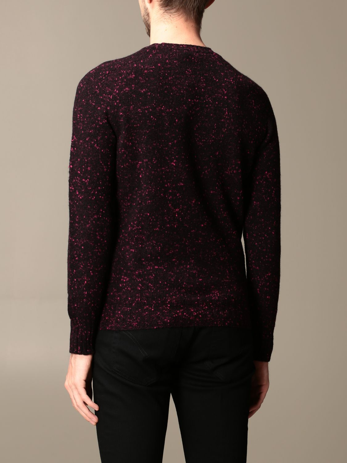 Sweater Drumohr: Sweater men Drumohr burgundy 2