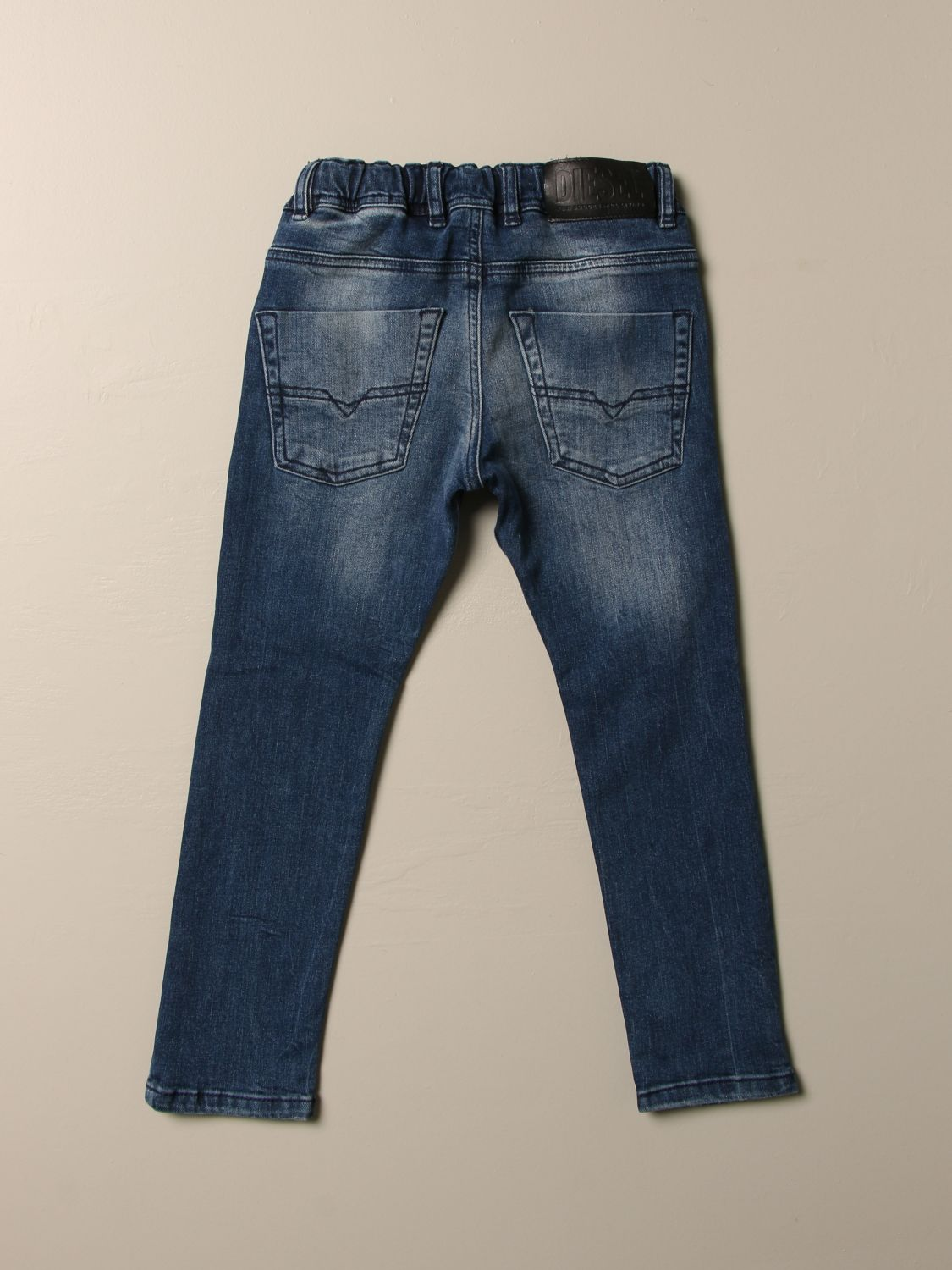 Pantalone Diesel: Jeans Diesel in denim used con coulisse denim 2