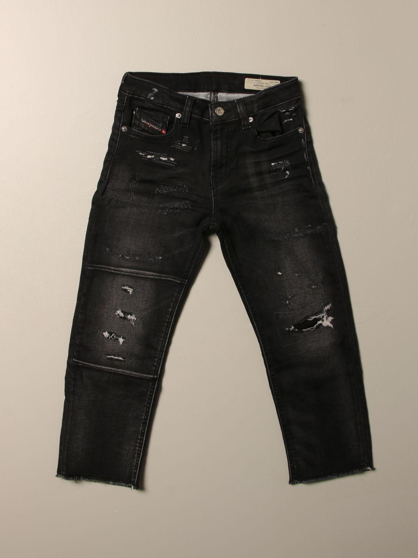 Pantalone Diesel: Jeans Aryel Diesel in denim con micro rotture denim 1