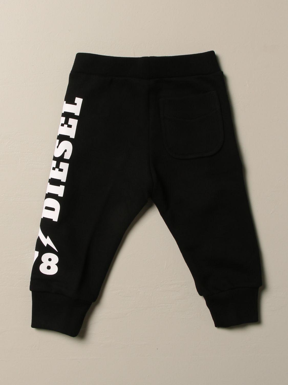 Trousers Diesel: Trousers kids Diesel black 2