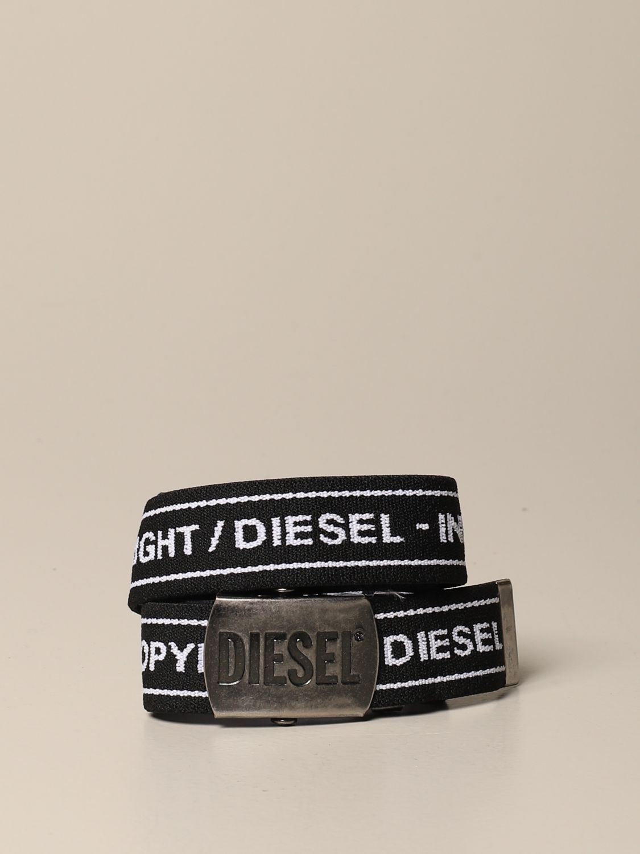 Cinturón Diesel: Cinturón niños Diesel negro 1
