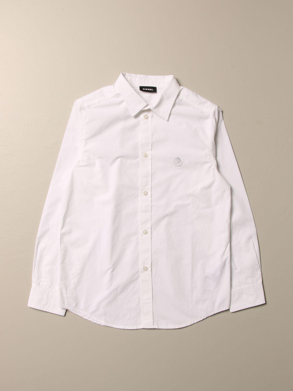 Camisa Diesel: Camisa niños Diesel blanco 1