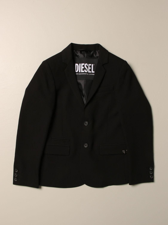 Americana Diesel: Chaqueta niños Diesel negro 1