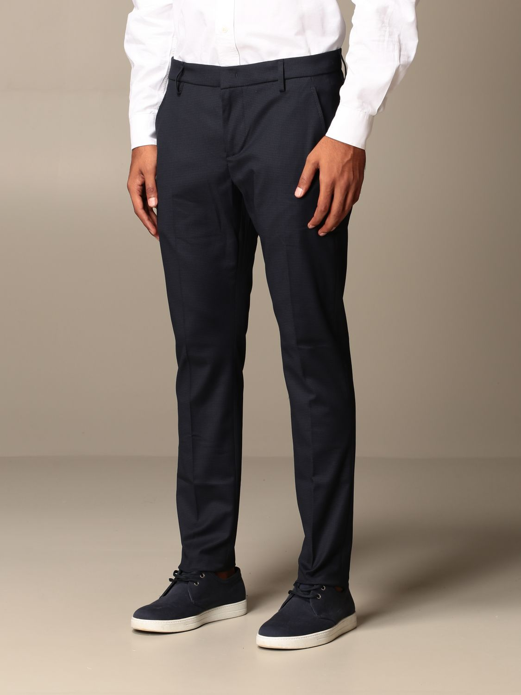 Pants Dondup: Pants men Dondup blue 3