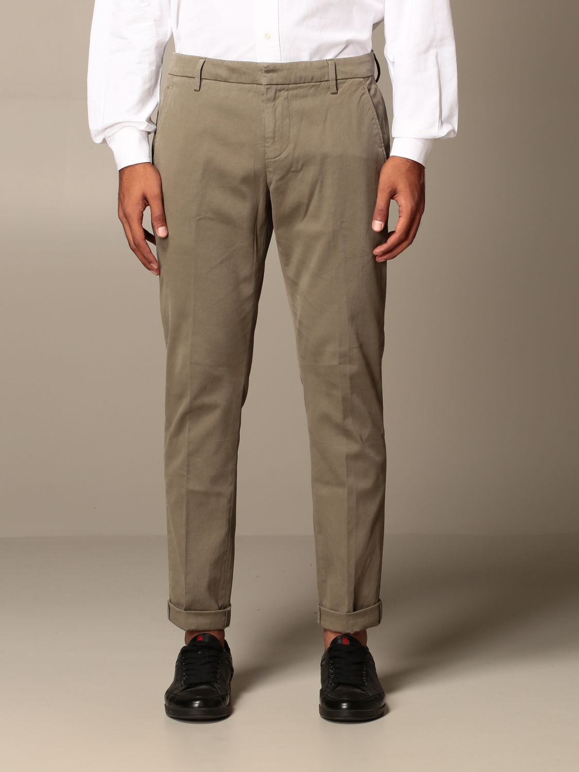 Pants Dondup: Pants men Dondup mud 1