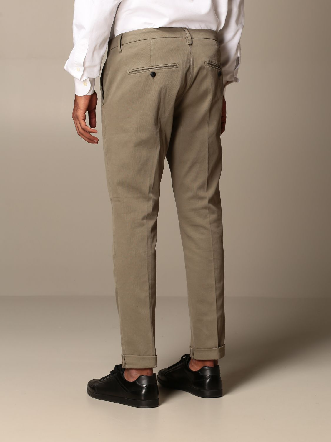 Pants Dondup: Pants men Dondup mud 2