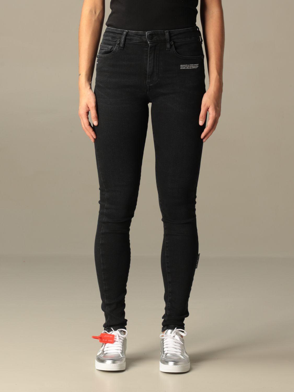 Jeans Off White: Jeans damen Off White schwarz 1