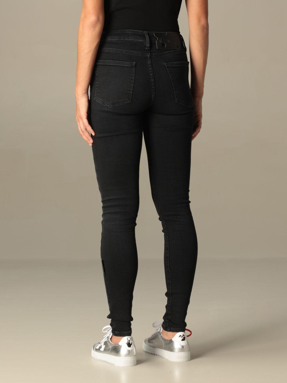 Jeans Off White: Jeans damen Off White schwarz 3