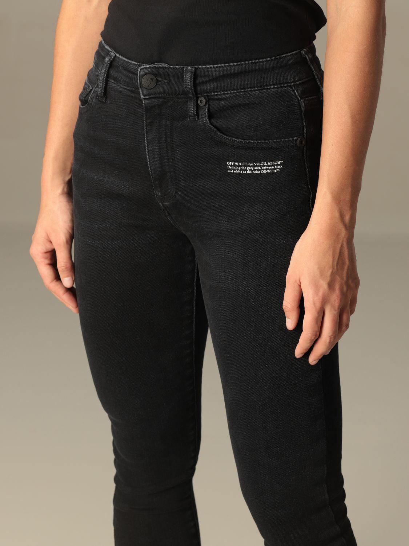 Jeans Off White: Jeans damen Off White schwarz 4