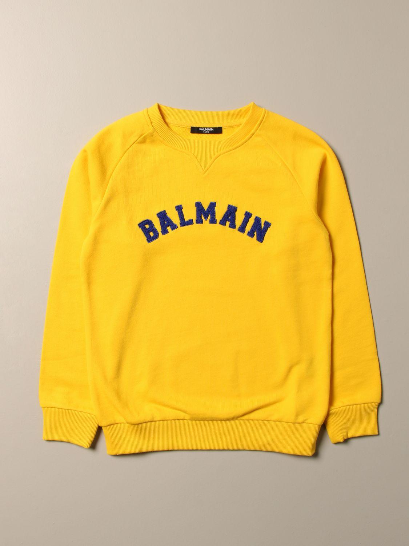 Jersey Balmain: Jersey niños Balmain amarillo 1