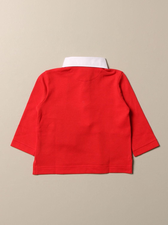 Camiseta Burberry: Camiseta niños Burberry rojo 2