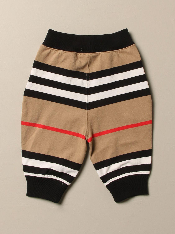Pantalón Burberry: Pantalón niños Burberry beige 2