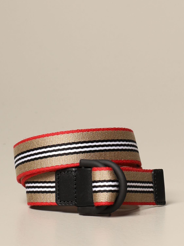 Cinturón Burberry: Cinturón niños Burberry beige 1