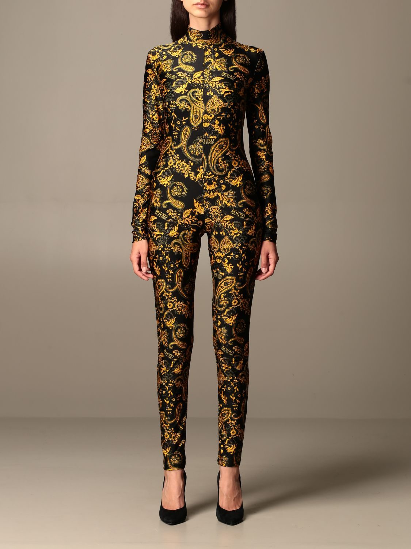 Jumpsuit Versace Jeans Couture: Jumpsuit damen Versace Jeans Couture schwarz 1