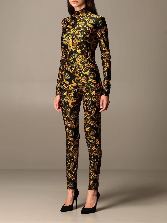 Jumpsuit Versace Jeans Couture: Jumpsuit damen Versace Jeans Couture schwarz 3