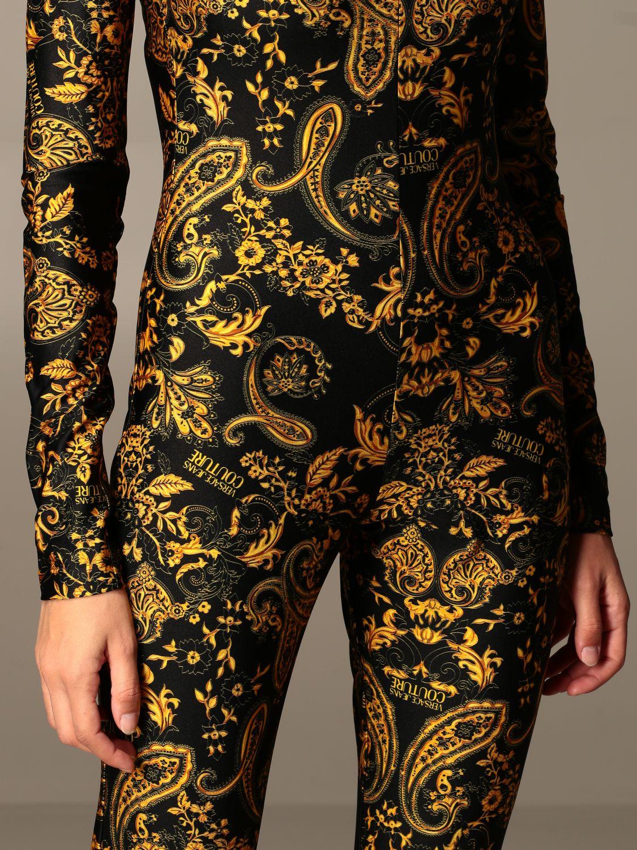 Jumpsuit Versace Jeans Couture: Jumpsuit damen Versace Jeans Couture schwarz 4