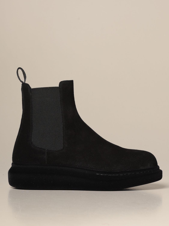 Stiefeletten Alexander Mcqueen: Schuhe herren Alexander Mcqueen schwarz 1