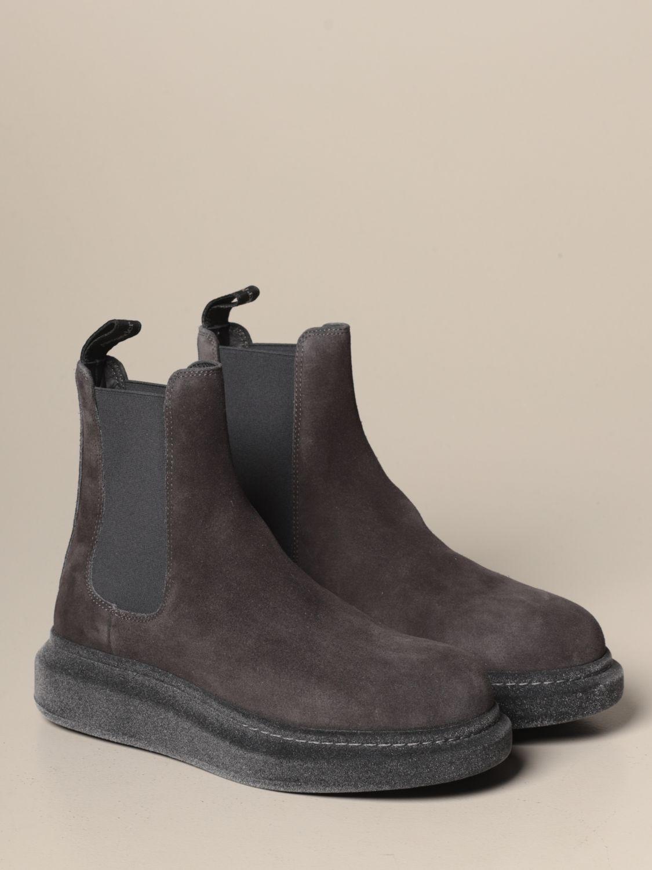 Ботинки челси Alexander Mcqueen: Обувь Мужское Alexander Mcqueen серебряный 2