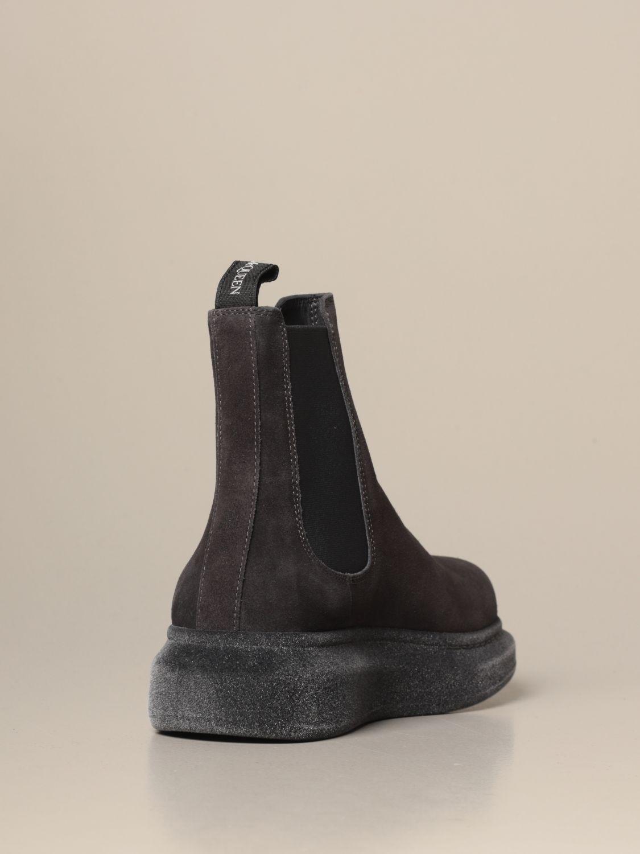 Ботинки челси Alexander Mcqueen: Обувь Мужское Alexander Mcqueen серебряный 4