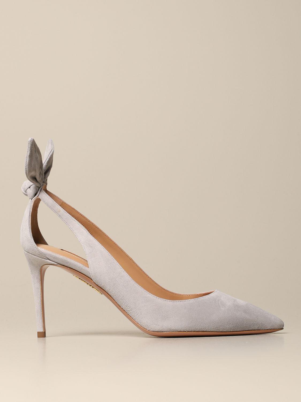 High heel shoes Aquazzura: High heel shoes women Aquazzura grey 1