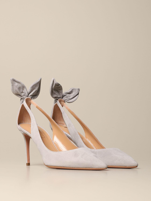High heel shoes Aquazzura: High heel shoes women Aquazzura grey 2