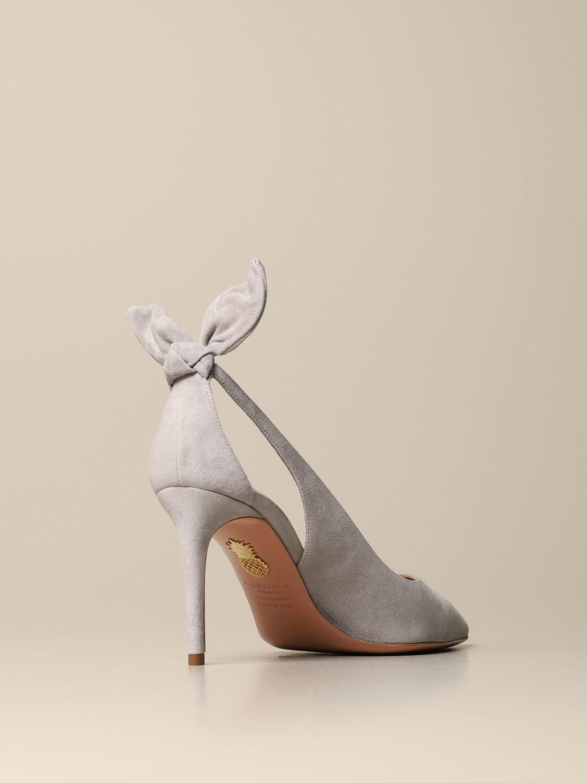 High heel shoes Aquazzura: High heel shoes women Aquazzura grey 3