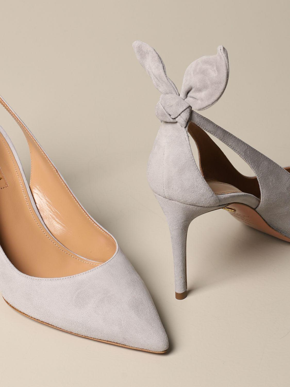 High heel shoes Aquazzura: High heel shoes women Aquazzura grey 4