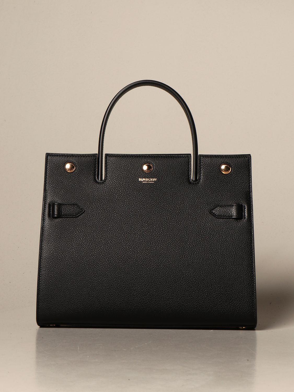 Handtasche Burberry: Schultertasche damen Burberry schwarz 1