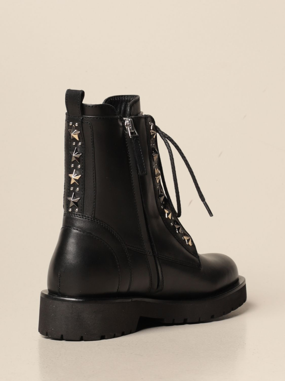 Bottines plates Twin Set: Chaussures femme Twin Set noir 3