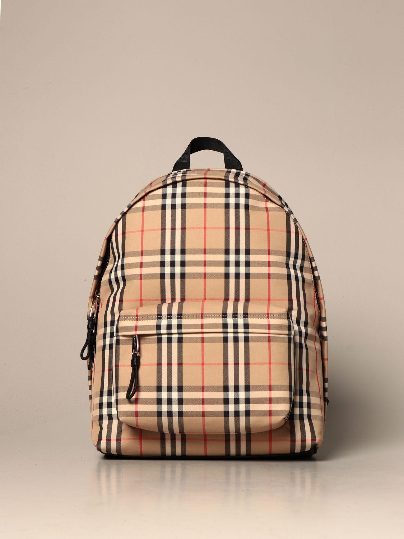 Backpack Burberry: Backpack men Burberry beige 1