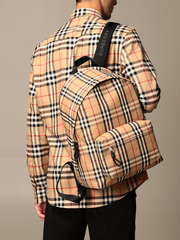 Backpack Burberry: Backpack men Burberry beige 2